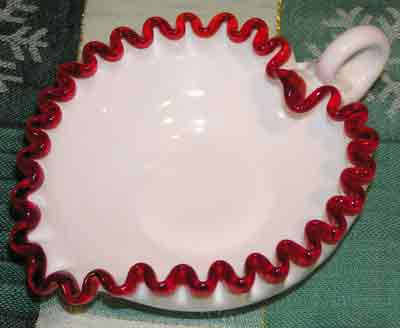 FENTON CREST PATTERN GLASS